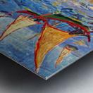 The sea at Saintes-Maries by Van Gogh Metal print