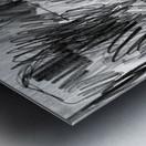 Lawn sketch Metal print