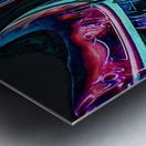 Colorful Distortions Metal print