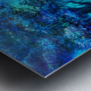 Blue Ravine Metal print