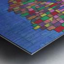 colorfulbuildings Metal print