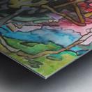 Abstractforest Metal print