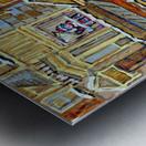 MOE S DINER CASSE CROUTE DU COIN MONTREAL WINTER SCENE Metal print