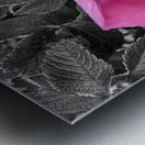 BlackPinkLove Metal print