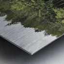 The Reflection Metal print