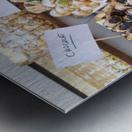Desserts at market in France Metal print