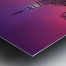 Yorkirius - Abstract skyline Metal print