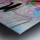Summer Resort Abstract  Metal print