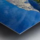 Comox Glacier in Early Spring Metal print