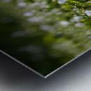 Confettis au jardin 2 Impression metal