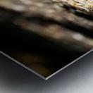 Confettis sur bitume Impression metal