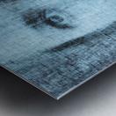 Un regard bleu - A Blue Gaze Metal print