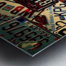 Plates Galore Metal print