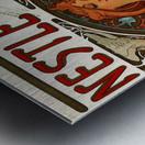 Nestle by Alphonse Mucha Metal print
