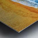 Golden Beach I Metal print