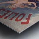 Folies Bergere Fleur de Lotus Poster Metal print