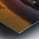 Coucher de soleil au Bic Metal print