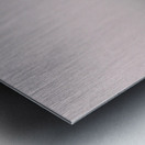 Haybales in a Haze Metal print