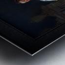 La Marquise de Pompadour by Francois Boucher Classical Fine Art Xzendor7 Old Masters Reproductions Metal print