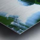 swift Metal print