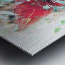Scarlett Pimpernel with Vine Metal print