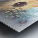 Curious Bear  Metal print