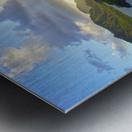 Sunset over Kukii Point on the Island of Kauai in Hawaii Metal print