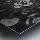 1968 New York Jets Joe Namath Pass Photograph Metal print