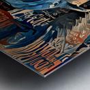 The Posterized Elephant Metal print