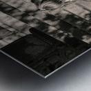 Urban Loneliness - Crying Metal print