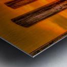 Liquid Gold Metal print