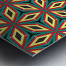 Colorful pattern Metal print