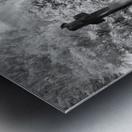 Infrared Scotland graveyard Metal print