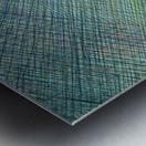 Greenblocks Metal print