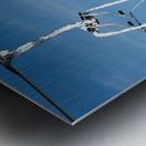 Steel Sky Metal print