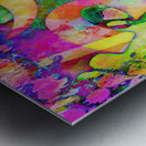 Om Rays Metal print