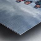 Les Warrecks Metal print