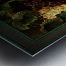 Pumpkin Platter by Johan Laurentz Jensen Classical Fine Art Xzendor7 Old Masters Reproductions Metal print