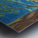 Blue View Metal print