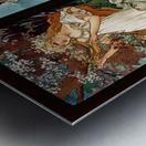 Seasons by Alphonse Mucha Art Nouveau Xzendor7 Old Masters Art Reproductions Metal print
