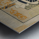 Alexandre-de-Riquer---Salon-Pedal Metal print