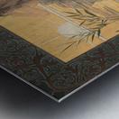 Alexandre-de-Riquer---Winged-nymph-at-sunrise Metal print