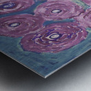 Purple flowers Metal print