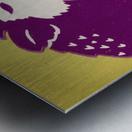 1950 Washington Husky Ticket Remix Art Metal print