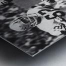 Retro Dallas Cowboys Roger Staubach Photo Art Metal print