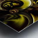 Mechanical Intensity Metal print