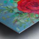 Roses challenge.  Metal print