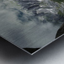 Alpine gates  Metal print