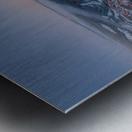 Mo South Metal print