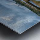 Autumn Walk - 2 Metal print